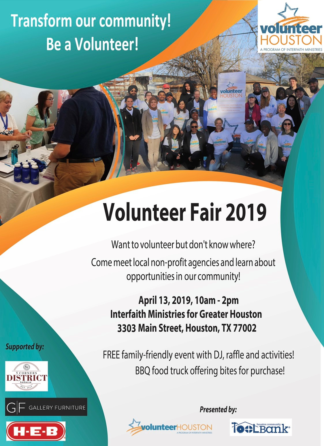 VH Volunteer Fair Flyer